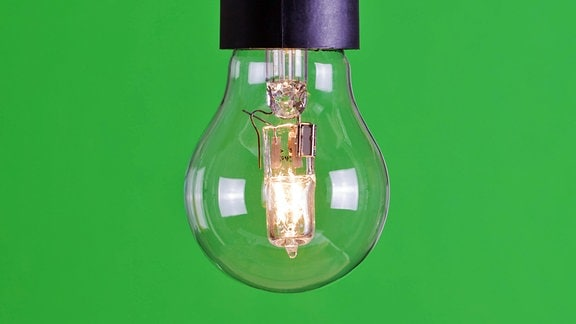 Birnenförmige Hochvolt-Halogenlampe
