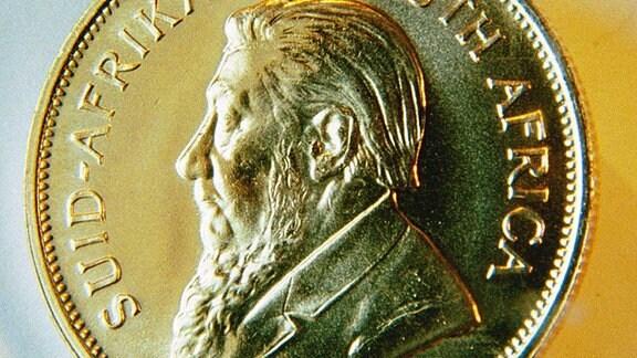 Krügerrand - Südafrikanische Goldmünze