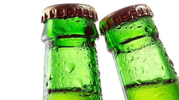 Zwei Bierflaschen