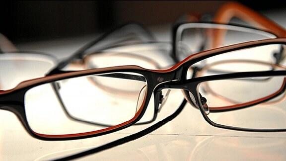 mehrere Brillen