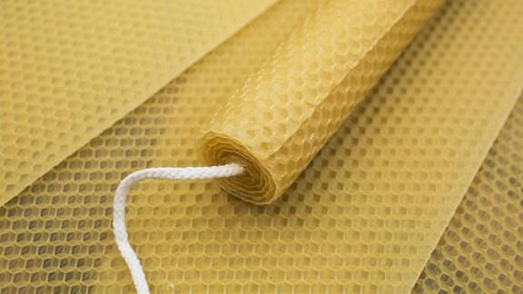 Bienenwachskerze