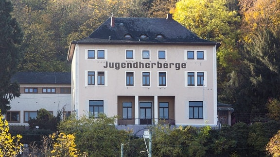 Gebäude der Jugendherberge in St. Goar am Rhein.