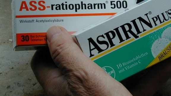 Aspirin plus C Brausetablette Brausetabletten Packung quer ASS-ratiopharm 500, 2002