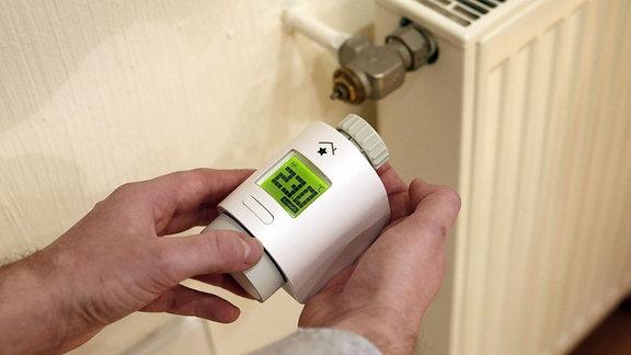 elektronisches Heizkörper-Thermostat