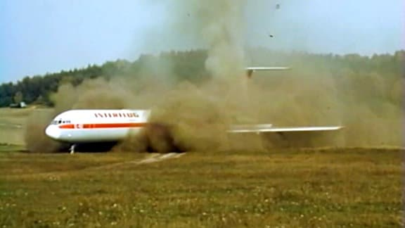 IL-62 Landung