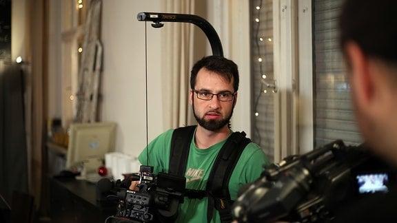 Bilder vom Dreh - Unicato zum Kurzfilmtag