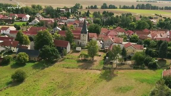 Drohnenbild Flarchheim