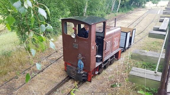 Die Feldbahn von Glossen.