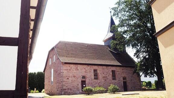 Die Kirche von Schönau.