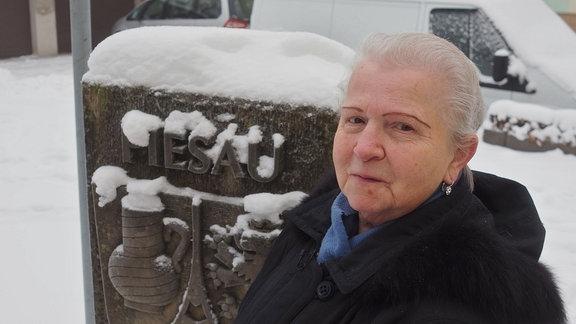 Maria Böhm kam 1945 nach Thüringen. Mit ihrer Familie wurde sie aus der Slowakei vertrieben und hat in Piesau eine neue Heimat gefunden.