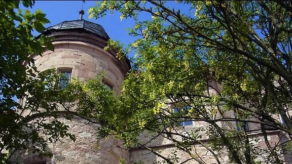 Die Johanniterburg in Kühndorf: Die Sanierung einer rund 700 Jahre alten Feste ist nie abgeschlossen.