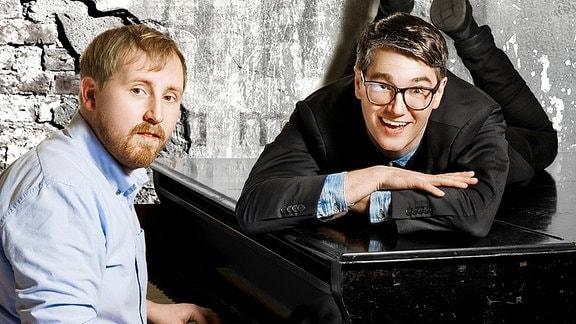 Comedy mit Karsten: Christian Meyer und Julius Fischer