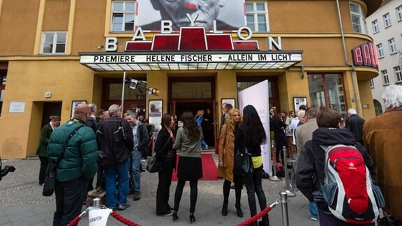 Das Kino Babylon in Berlin