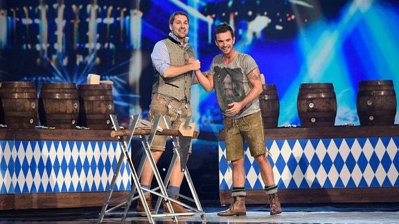 David Garrett und Florian Silbereisen