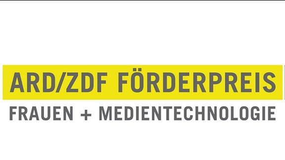 "Logo ARD/ZDF Förderpreis ""Frauen + Medientechnologie"""