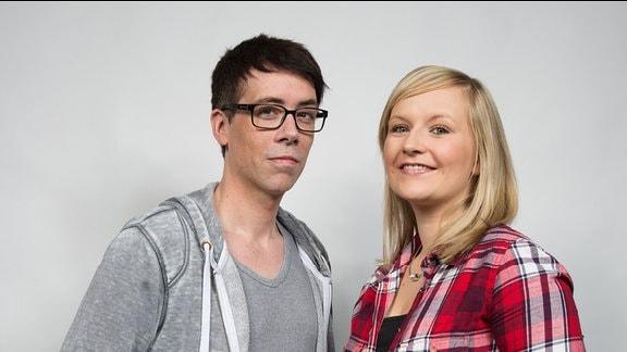 Die SPUTNIKer am Morgen: Katrin Hammer und Raimund Fichtenberger