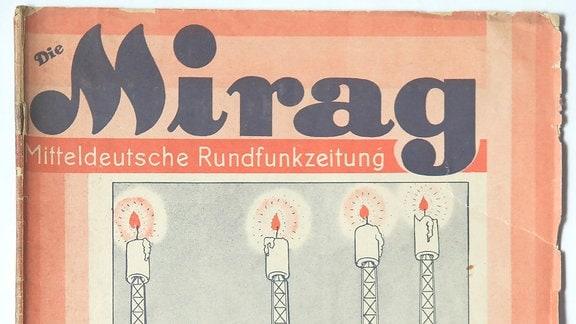 Titelblatt der MIRAG Mitteldeutsche Rundfunkzeitung
