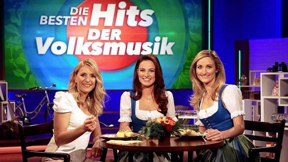 Stefanie Hertel mit Sigrid & Marina