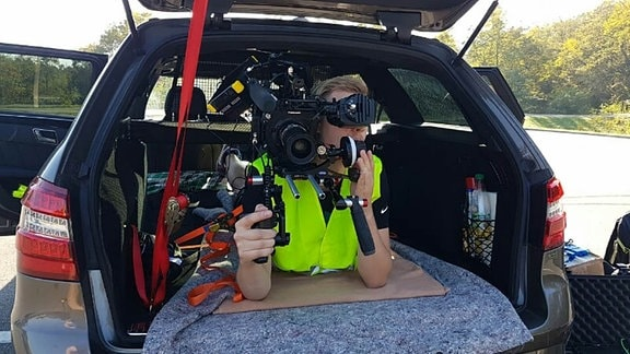 Kamera-Arbeit