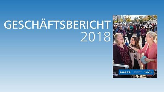 MDR Geschäftsbericht 2018 Deckblatt