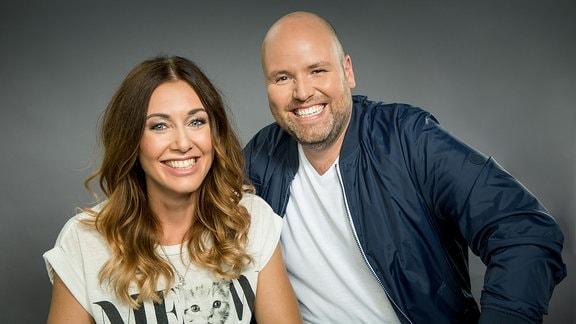 Nora Sanne und Timo Close