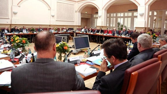Die Sitzung des MDR-Rundfunkrates am 31. März 2014 in Leipzig