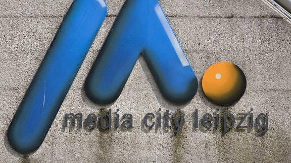 Das Logo der Media City