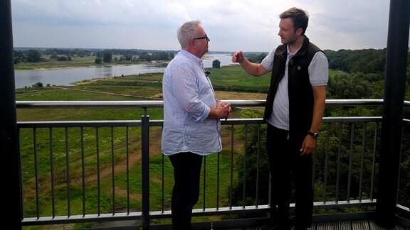 Impressionen vom Dreh auf dem Altmarkrundkurs von Tangermünde nach Stendal mit Victroia Hermann und Andreas Neugeboren