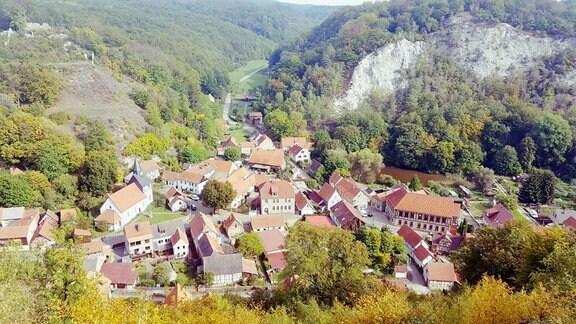 """Postkarten-Aktion von """"Unterwegs"""": Wandern in Questenberg"""