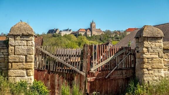 Blick auf Schloß Allstedt