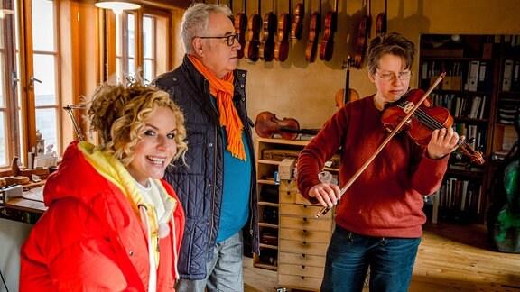 Werkstatt der Geigenbauerin Renate Fink