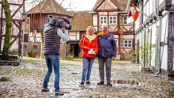 Victoria Herrmann und Andreas Neugeboren