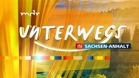Unterwegs in Sachsen-Anhalt - Logo