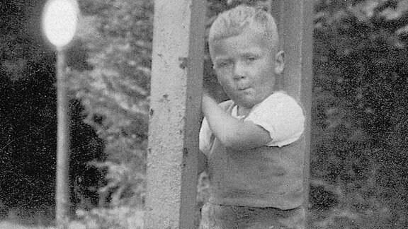 Sigmund Jähn als Kind.