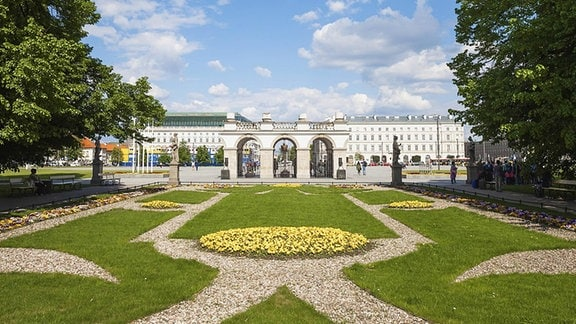 Der Sächsische Garten in Warschau