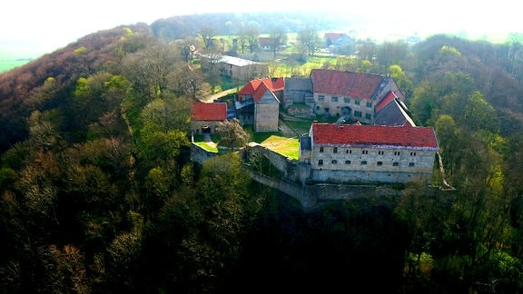 Burg Lohra im Kreis Nordhausen