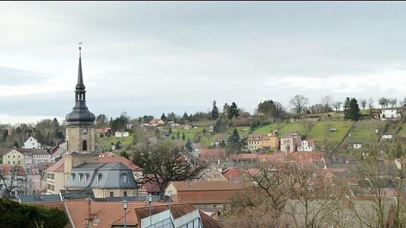 Stadtansicht Bad Sulza.