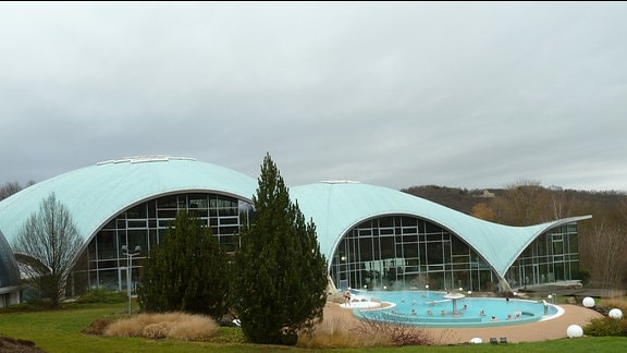 Die Toskana-Therme in Bad Sulza.