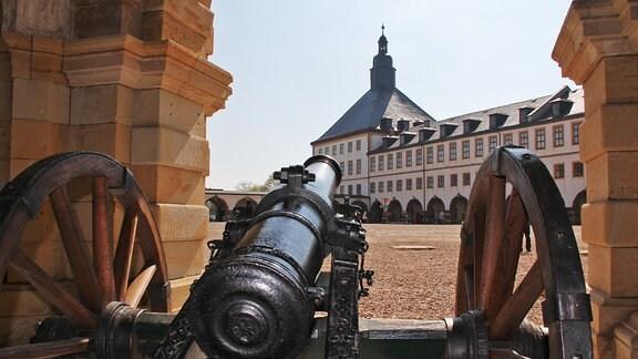 Schloss Friedenstein in Gotha, der größte Schlossbau Deutschlands