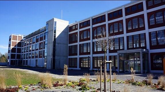 Ein Gebäude des berühmten Architekten Egon Eiermann.