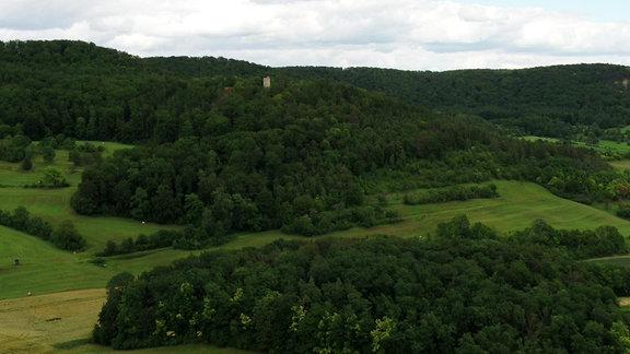 Luftaufnahme vom Teufelsberg