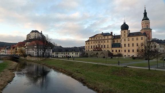 Stadtimpressionen von Greiz