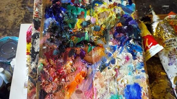 Ein buntes Gemälde