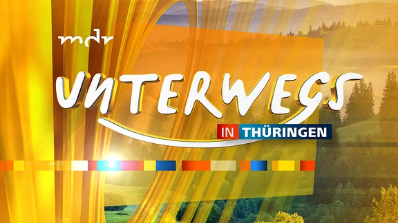 Unterwegs in Thüringen - Logo