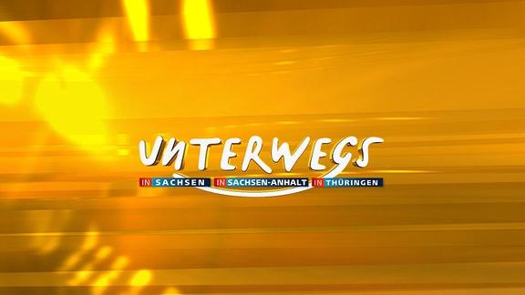 Unterwegs - Logo