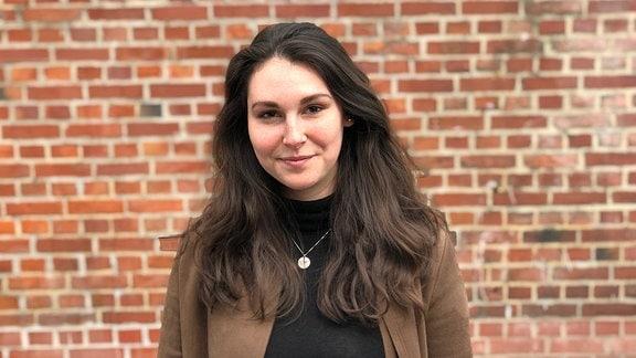 MDR-Volontärin Friederike Franke