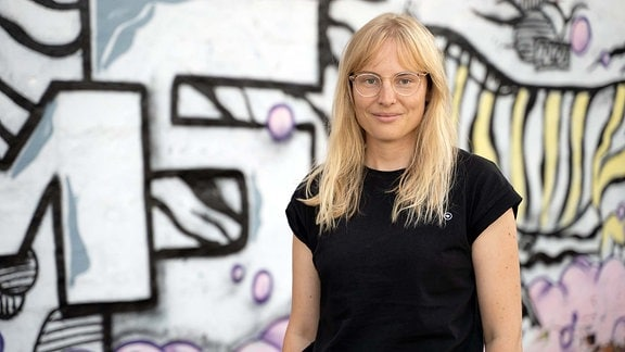 MDR-Volontärin Hanna Lohoff