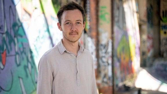 MDR-Volontär Philipp Baumgärtner