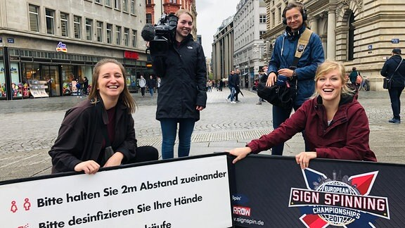 Sign Spinning - Flyern mal anders
