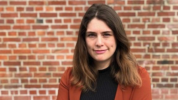 MDR-Volontärin Ann-Kathrin Canjé
